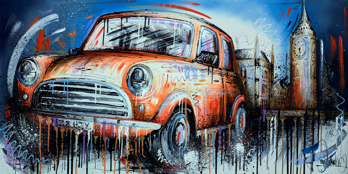 Orange is the New Black by samantha ellis -  sized 48x24 inches. Available from Whitewall Galleries